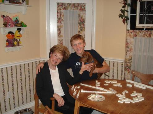 Mexican Train and Rusty