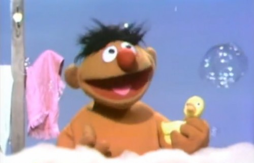 ernie-and-rubber-duckie