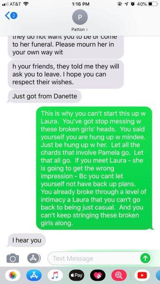 Screenshot sent to me from an ex of jlptexashunter